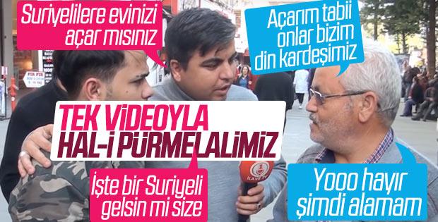 Antalya'da 'Suriyelileri evinize alır mısınız' deneyi