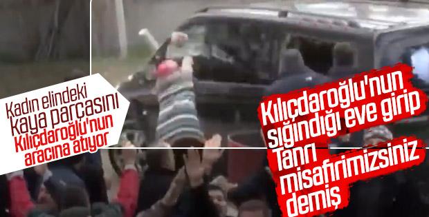 Kılıçdaroğlu'nun aracına saldıran kadın yanına da gitmiş