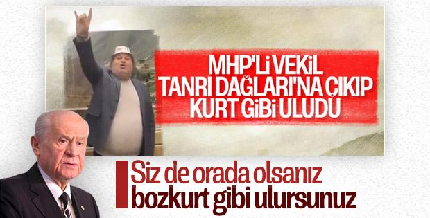 Bahçeli, MHP'li vekilin uluma videosunu değerlendirdi