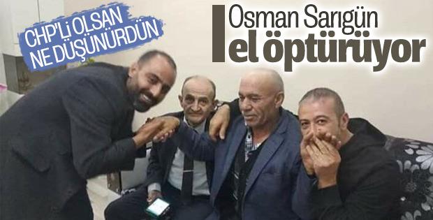 Osman Sarıgün'ü sevinçle karşıladılar