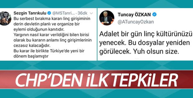 Osman Sarıgün'ün serbest bırakılmasına CHP'liler tepkili