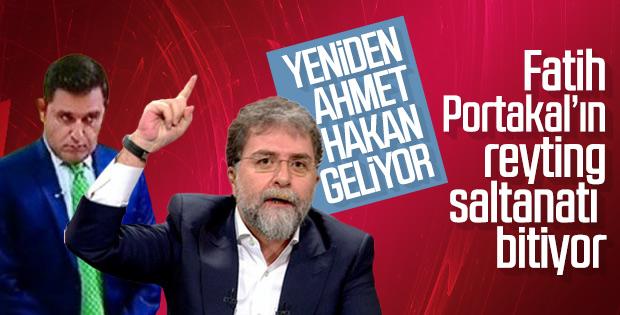 Kanal D'de Ahmet Hakan sesleri