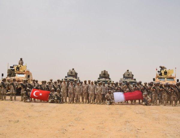 Türkiye ve Katar ortak tatbikat yaptı
