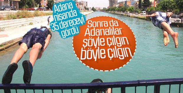 Adana'ya yaz geldi