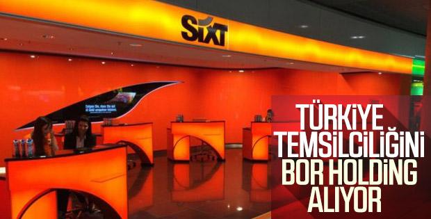 BOR Holding, Sixt'in Türkiye temsilcisi olacak