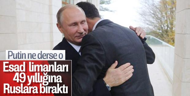 Rusya Tartus limanını aldı