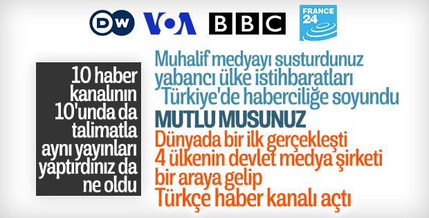 Dört yabancı haber kanalı Türkiye'de haber kanalı kurdu