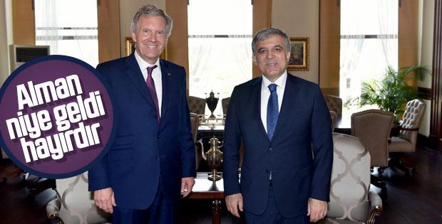 Abdullah Gül, eski Almanya Cumhurbaşkanı ile görüştü