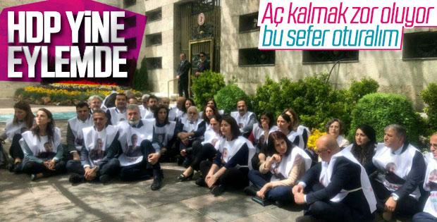 HDP'den Meclis'te oturma eylemi