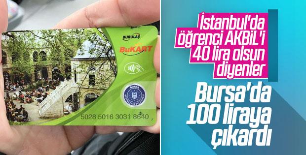 Bursa'da toplu taşıma fiyatlarına zam