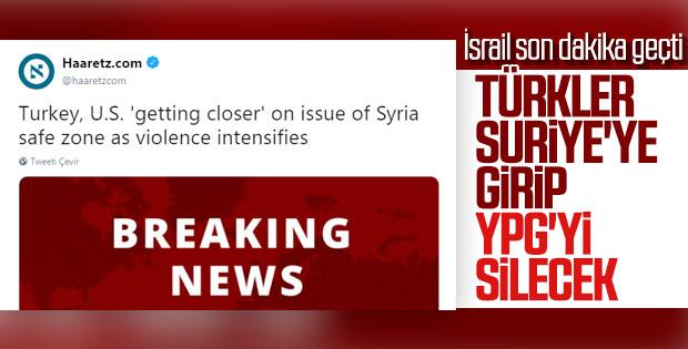 İsrail, Suriye operasyonunu son dakika olarak geçti