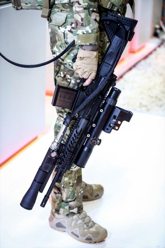 Piyade tüfeğinden lazer silahı