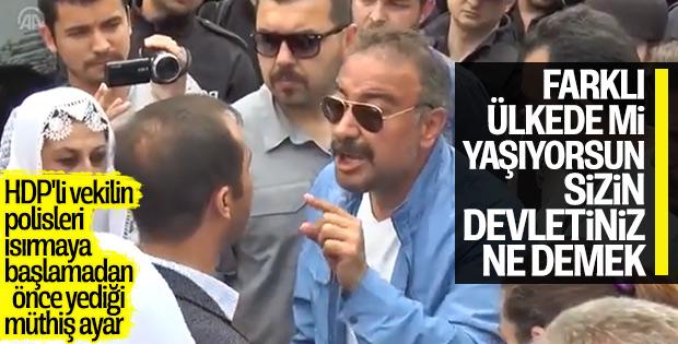 Diyarbakır'da HDP'liler ortalığı karıştırdı