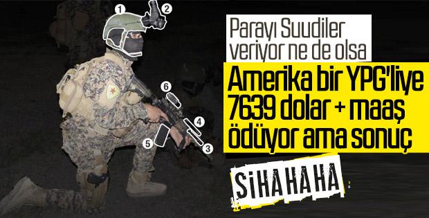 Amerika YPG'li teröristlerin maaşına zam yaptı