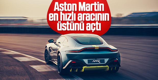 Aston Martin yeni aracını tanıttı