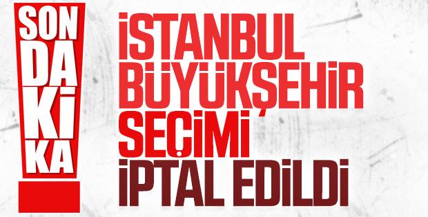 YSK İstanbul seçimlerini yenileme kararı aldı