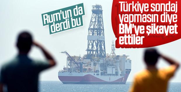 Rumlar BM'ye yine Türkiye'yi şikayet etti