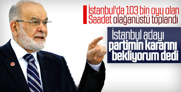 Saadet Partisi adayını CHP lehine çekebilir