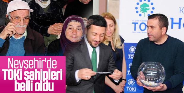 Nevşehir TOKİ konutları için kura çekimi gerçekleşti