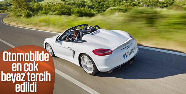 Türkiye'de beyaz araç daha çok tercih ediliyor
