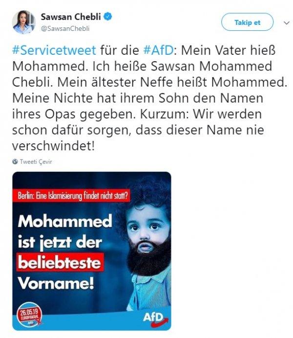 Muhammed isminin popülerliği Almanları korkuttu