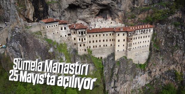 Sümela Manastırı 1 hafta rötarlı açılacak