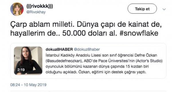 Defne Özkan dolandırıcı çıktı iddiası