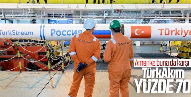 Türkiye alım terminalinin yüzde 70'i tamamlandı