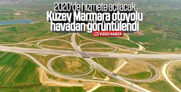 Kuzey Marmara otoyolunun yüzde 71'i tamamlandı