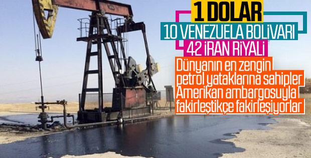 Petrol rezervi yüksek ülkelerin durumu