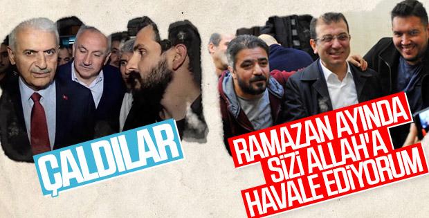 İstanbul adayları arasında 'hırsızlık' tartışması