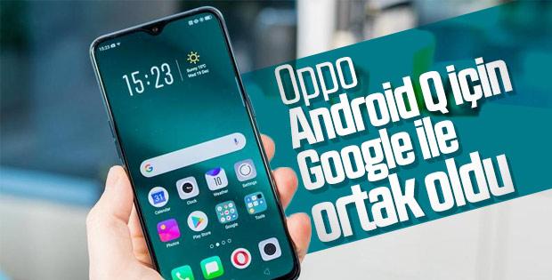 Oppo, Android Q için Google ile ortaklık yaptı