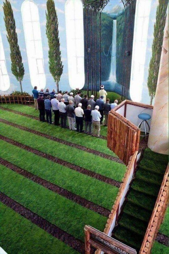 Kırşehir'de Hamidiye Camii beğeni topluyor