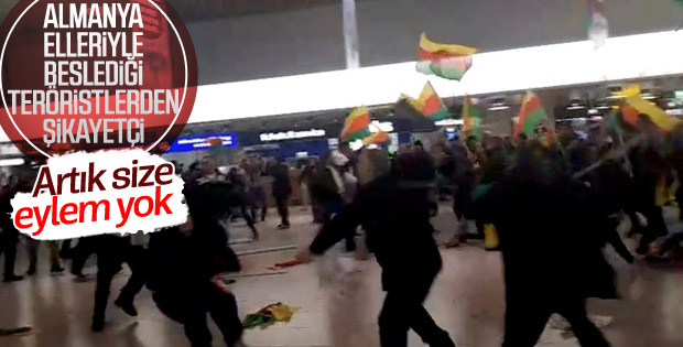 Almanya'dan PKK'nın eylemlerine önlem