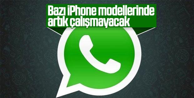 WhatsApp bazı iPhone modellerinde artık çalışmayacak
