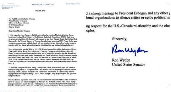 ABD'li senatör FETÖ'cü Enes için mektup yazdı