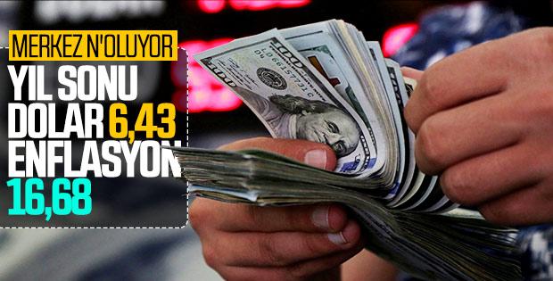 Merkez'in dolar tahmini: 6,43