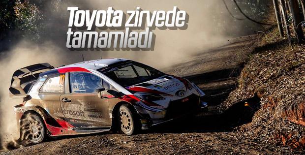 WRC Şili Rallisi'nde Toyota birinci