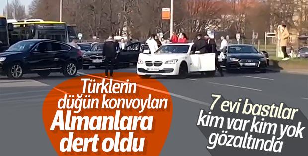 Alman polisinin hedefinde düğün konvoyları var