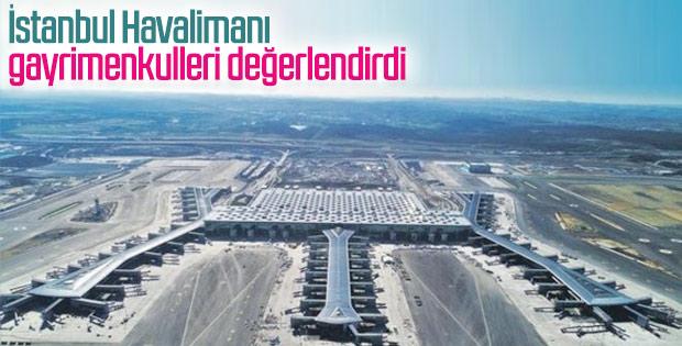 İstanbul Havalimanı çevresinde konut fiyatları arttı