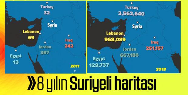 Suriyeli haritası