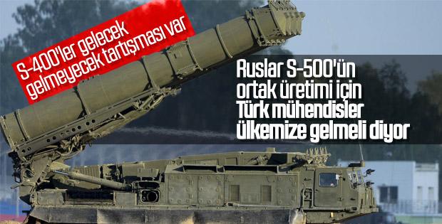 Rusya'dan Türkiye'nin S-500 talebine olumlu yanıt