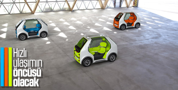 Renault, hızlı ulaşım ve kurye hizmetine el attı