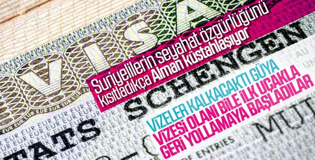 Almanya'dan Schengen vizesine katı kurallar