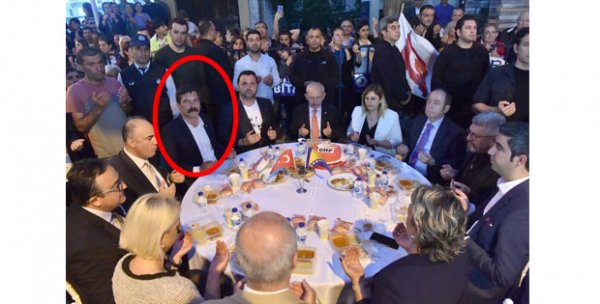 Erkan Baş iftar sofrasında