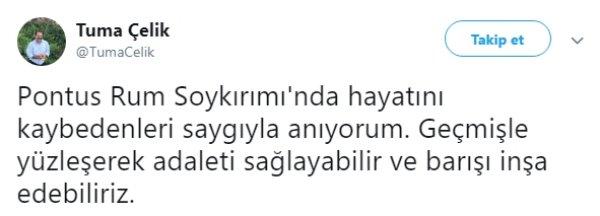 Sözde Pontus Rum Soykırımı'nı savunan HDP'li