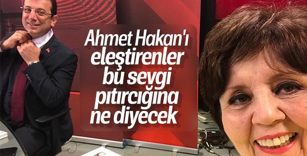 Ayşenur Arslan'dan mutluluktan uçuyorum selfie'si