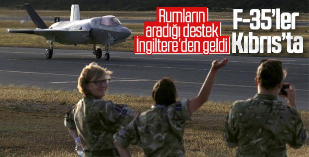 İngiltere'den Güney Kıbrıs'a F-35 yığınağı