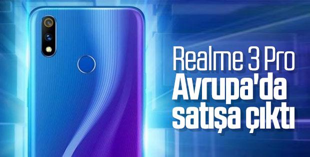Realme 3 Pro Avrupa'da satışa çıktı: İşte fiyatı