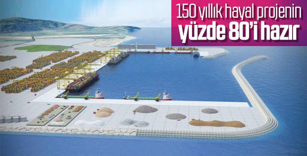 Filyos Limanı'nda çalışmalar sürüyor
